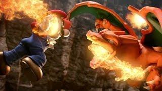 Super Smash Bros. 4 - Charizard/Greninja Trailer