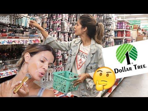 FULL FACE OF DOLLAR TREE MAKEUP | O M G