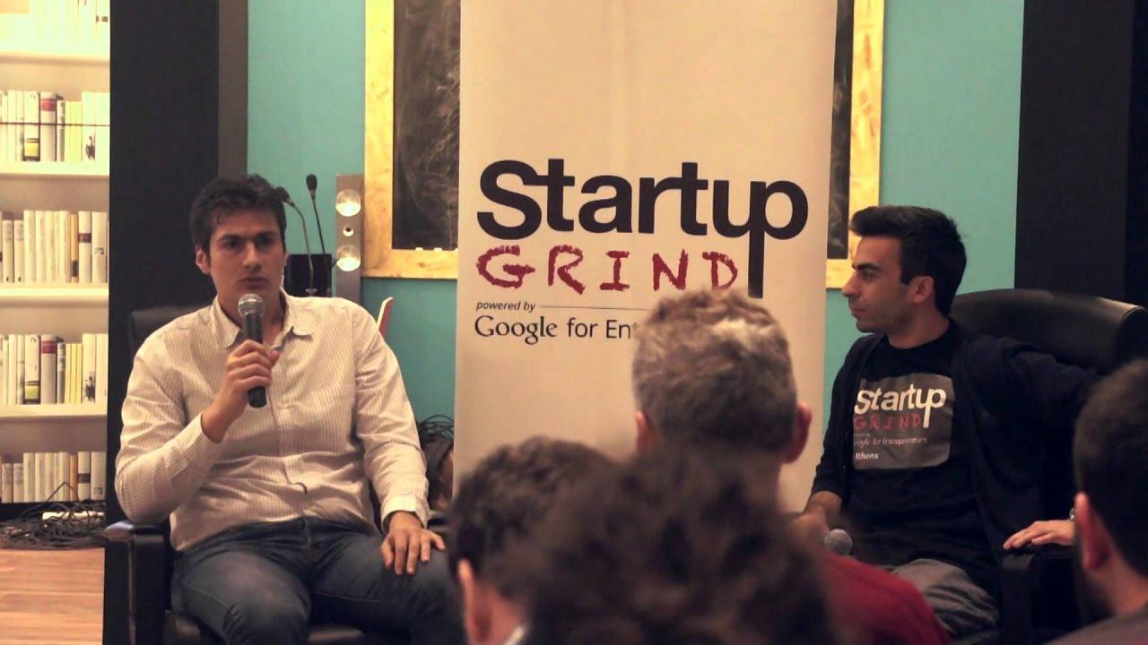 Startup Grind Athens Hosts Apostolos Apostolakis (e-FOOD gr)