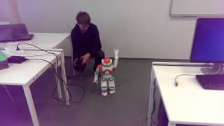 Nao robot - Ovládání pomocí bezdrátového ovladače