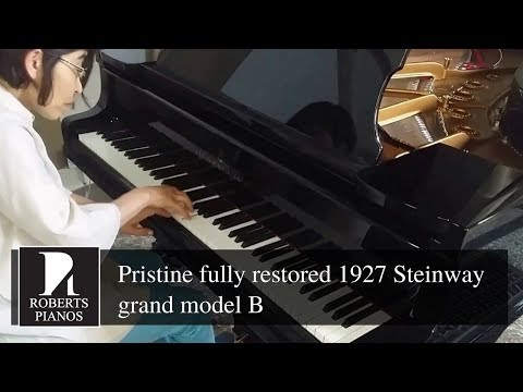 IN STOCK: Pristine fully restored 1927 Steinway grand model B for rental only