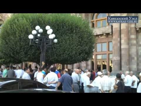 Ереван: владельцы ларьков протестуют