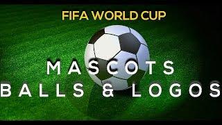 FIFA World Cup Mascots history 1966 - 2018  - FIFA World Cup Balls and Logos.