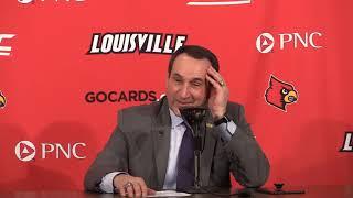 Mike Krzyzewski Louisville Post-Game 2-12-2019