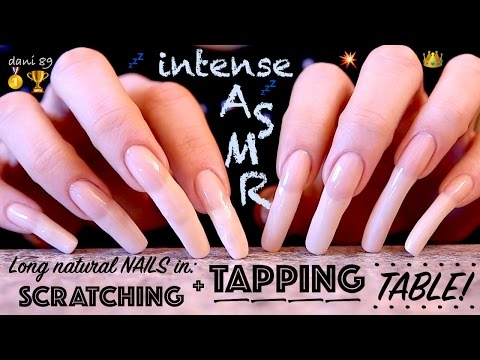 👑 Super relaxing 💟 ear-to-ear 🎧 ASMR 💛 with my inimitable ★ NAILS-TAPPING & SCRATCHING! 🌟