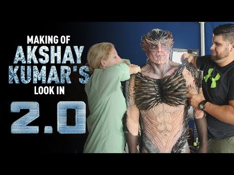 The Making of Akshay Kumar's Look | 2.0 | Rajinikanth | S. Shankar