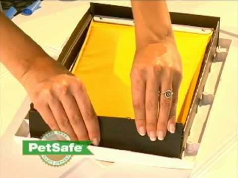 Petsafehow To Install The Extreme Weather Pet Door Youtube