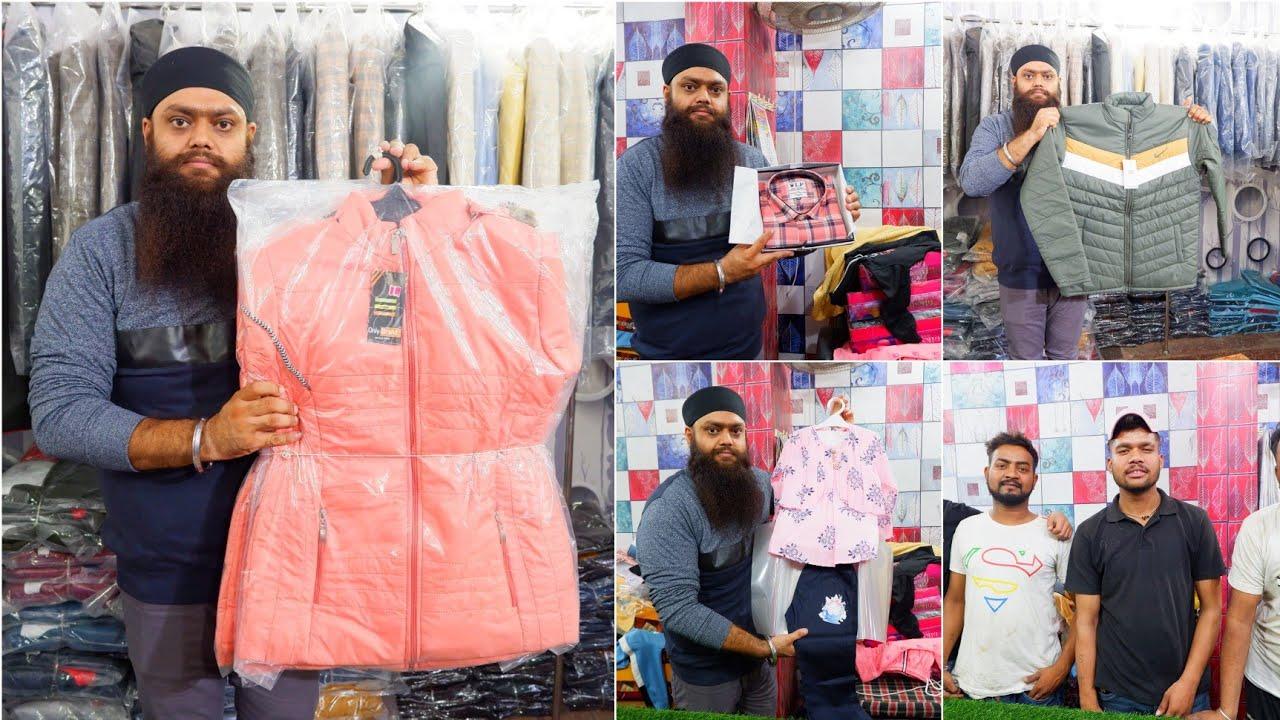 Download 🇮🇳 Ludhiana Wholesale Market। Kid's & Men's Jacket, Sweatshirt, Sweater Wholesale Market Ludhiana