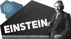 """Albert Einstein - """"Gott würfelt nicht."""" ● Gehe auf SIMPLECLUB.DE/GO & werde #EinserSchüler"""