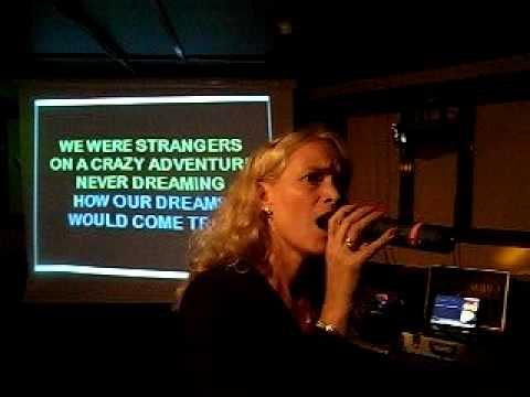 At the beginning - Richard Marx & Donna Lewis - Angela Laurin (karaoke)