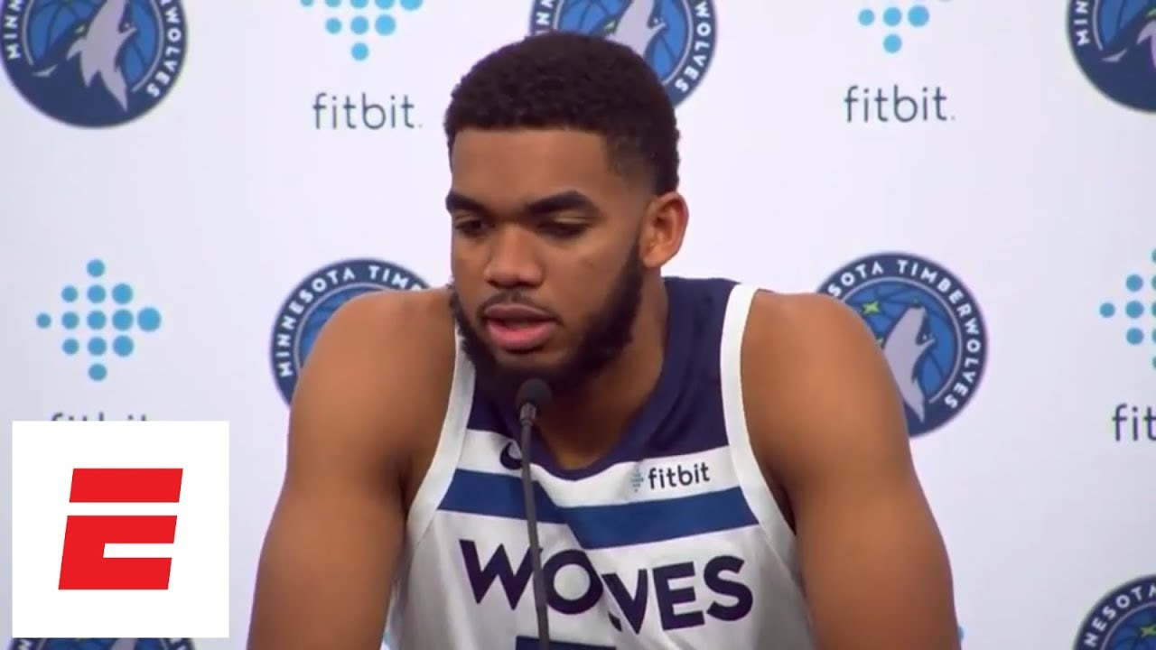 Karl-Anthony Towns talks Jimmy Butler saga, 'awkward' timing of new deal