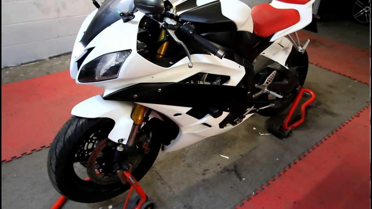 Carbon Fiber Wrap Yamaha R