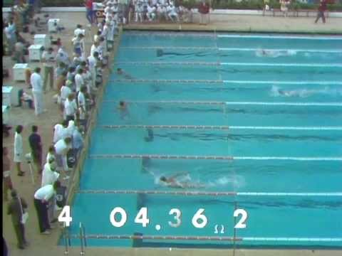 1970 European Aquatic (swimming and diving) championships. Olympic events.