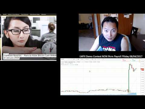 Non Farm Payroll Friday Forex Trading August 4th 2017