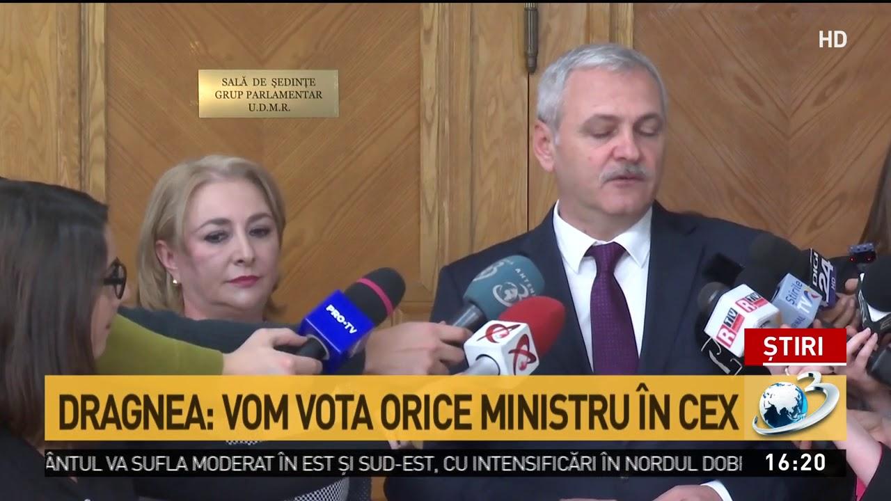 Dragnea îi răspunde dur lui Iohannis: Vom vota orice ministru în CEx