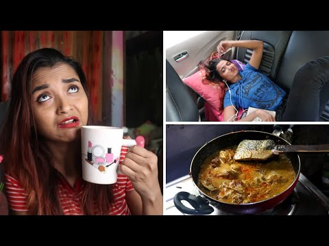 SUNDAY VLOG - BEHIND THE SCENE GHOTI Vs BANGAL - SANDY SAHA KISSED HIM | COOKING KUNG PAO CHICKEN
