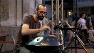 NADAYANA - Pantam [ aka Handpan ] Improvisation & Gong Bass