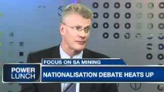 The nationalization of mines with Pieter Steyn from Lex Africa