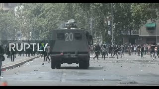 LIVE: Chilean trade unions call for general strike in support of student-led protests