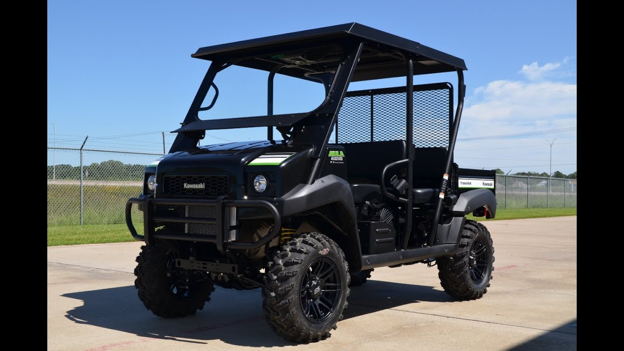 2015 Kawasaki Mule 4010 Trans With Lift Wheel And Tire Upgrade Wiring Diagram For More Youtube