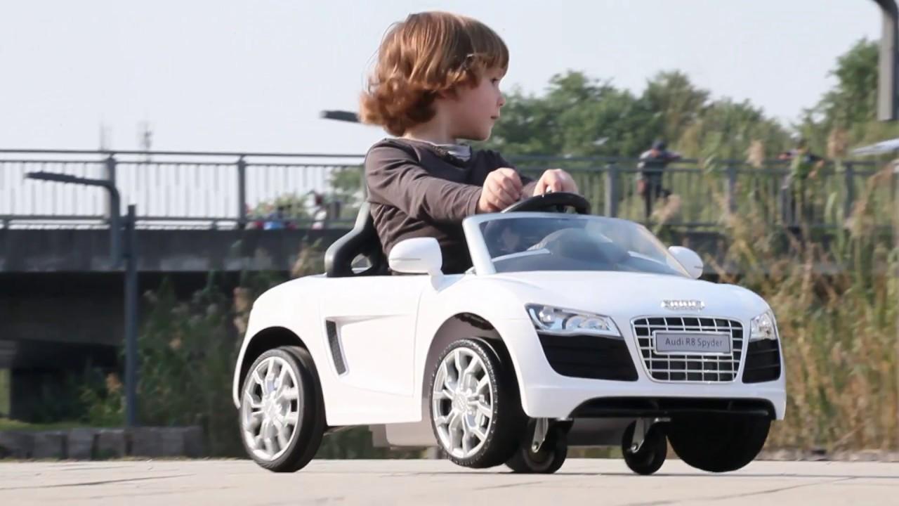 V Audi Spin Car YouTube - Audi r8 6v car