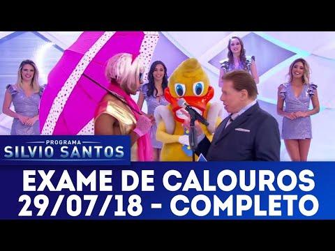 Exame de Calouros - Completo | Programa Silvio Santos (29/07/18)