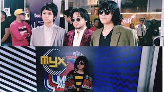 Unique Salonga and IV Of Spades attend MYX Awards 2019