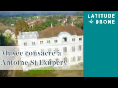 The future museum dedicated to the life of Antoine de Saint-Exupéry and the Little Prince