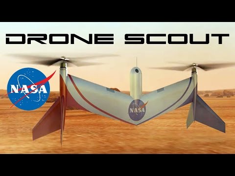 NASA's Mars Drone Scout - Behold The Future