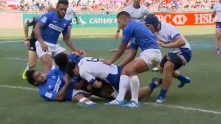 (HD) Hong Kong 7s | Samoa v South Korea | Pool A | Full Match Highlights | Rugby Sevens