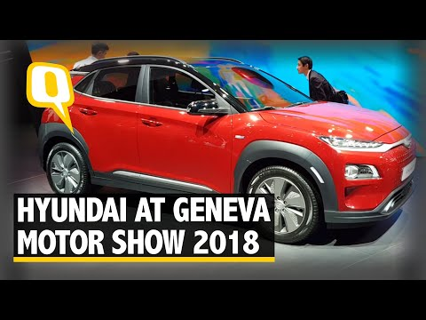 Hyundai Kona Electric SUV at Geneva Motor Show, Coming to India Soon