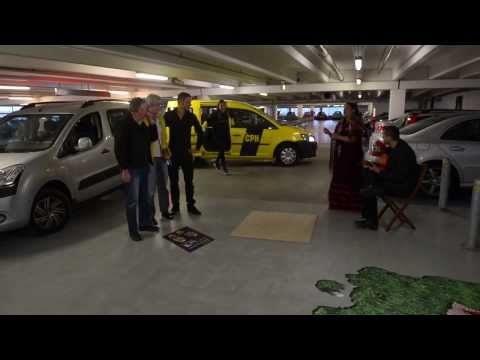 Copenhagen Airport surprises parking contest winner, Karsten
