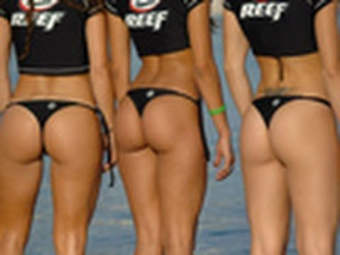 Bikini girls in g strings