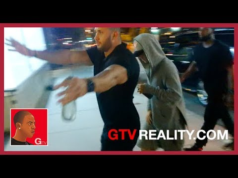 Justin Bieber late night studio run on GTV Reality