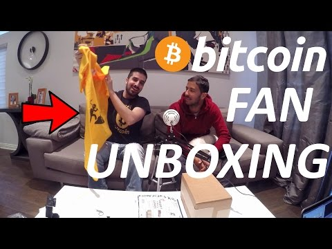 First Time Ever Bitcoin Fan Mail Unboxing (KeepKey Shirt, Hat, Coin, Key Chain And More!)