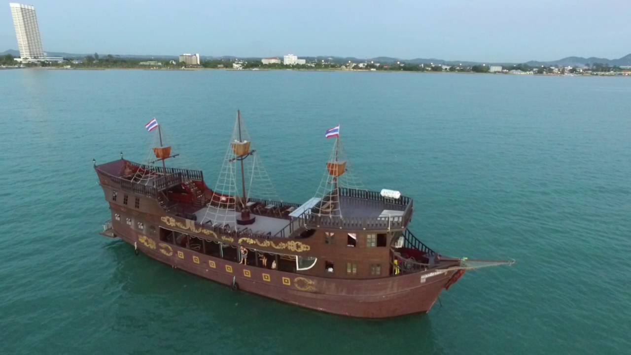 The real pirate ship in Pattaya - YouTube