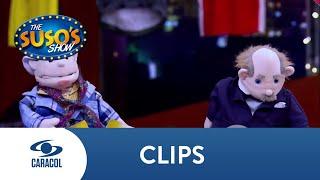 El divertido reto al que se le midió María Laura Quintero junto a Suso | Caracol Televisión