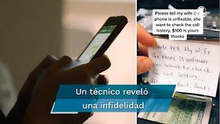 Un técnico sólo repararía un celular; sin embargo, este contenía un mensaje y dinero para que no fuera así. Aquí te contamos los detalles de la historia que se volvió viral en TikTok