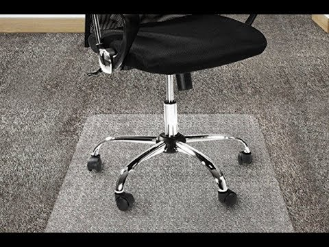 Office Marshal Polycarbonate Chair Mat for High Pile Carpet Floors, 36″ x 48″ Review
