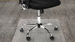 """Office Marshal Polycarbonate Chair Mat for High Pile Carpet Floors, 36"""" x 48"""" Review"""