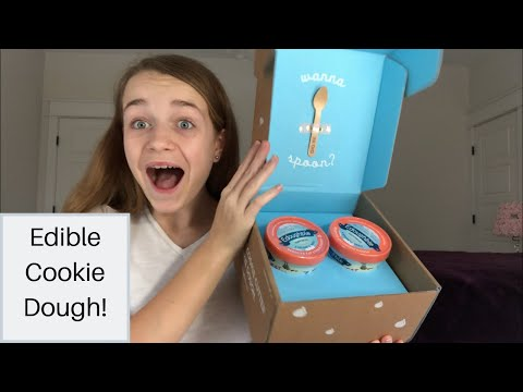 I Tried Edible Cookie Dough!-Edoughble|Catherine Wallace|