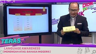 Teras (2021) | Menengah Atas: Bahasa Inggeris – Language Awareness
