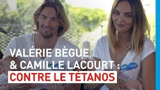 Valérie Bègue et Camille Lacourt, un couple engagé pour l'opération Pampers-UNICEF 2015 !