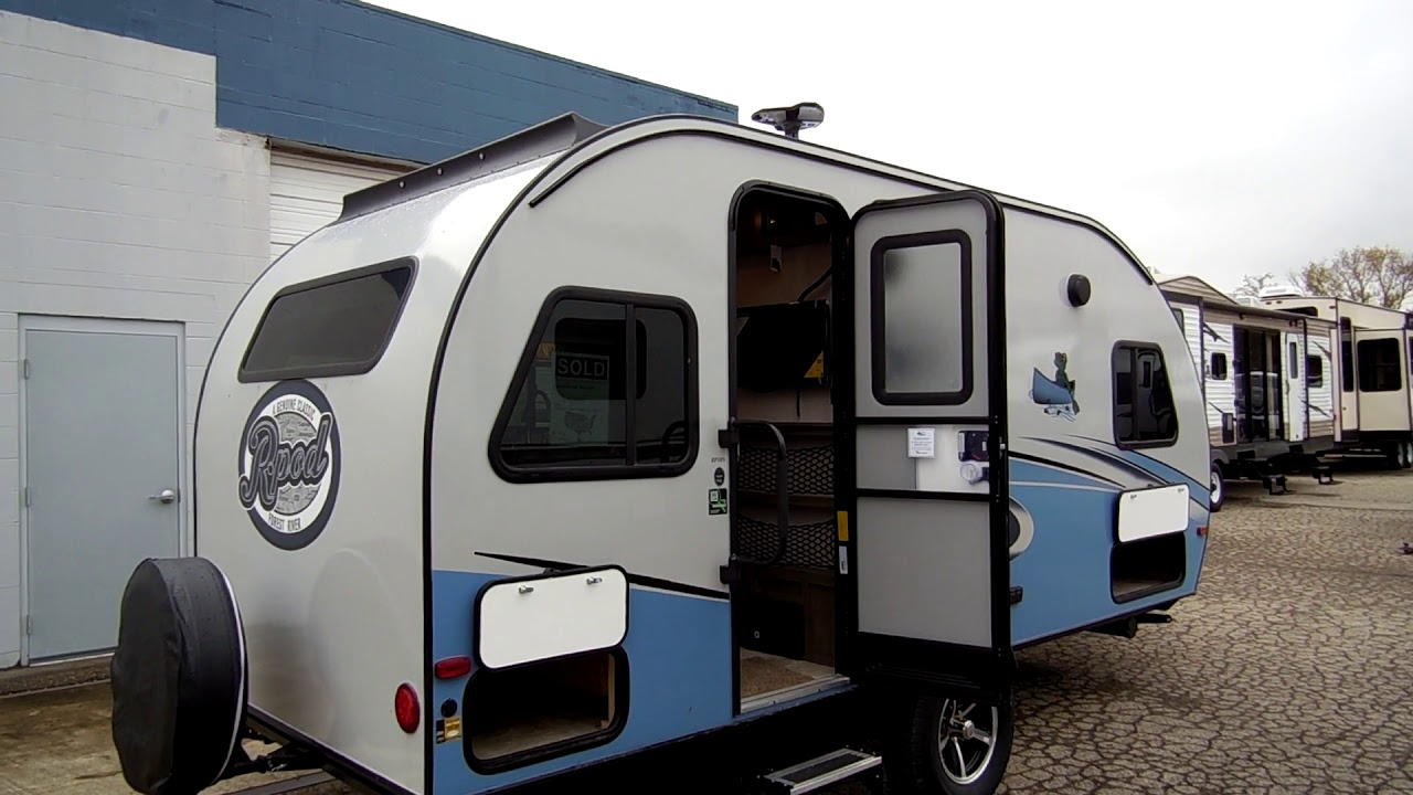 2018 1 2 R Pod 189 By Forestriver Travel Trailer Camping Tear Drop Trailers