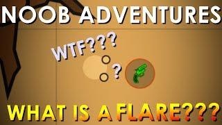 Surviv.io Noob Adventures #2 ~ WHAT Is A Flare Gun???