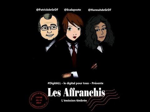 """DigitALL S01e04 - """"Les affranchis"""" le digital de LaPoste expliqué par Sylvie Joseph"""