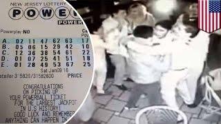 Powerball fail: NJ restaurant staff celebrates after reading 'winning' lottery numbers - TomoNews