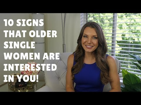 10 Signs That Older Single Women Are Interested In You