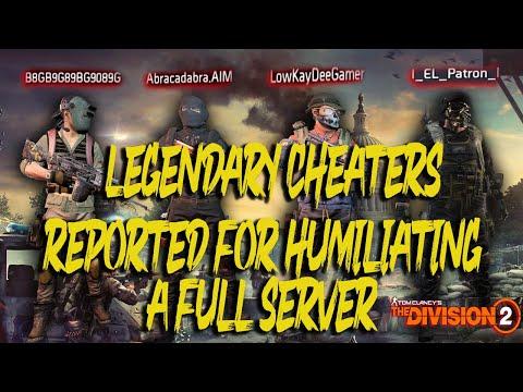 Reported For Humiliating Full Server l The Division 2 Dark Zone PVP l TU.12.3  