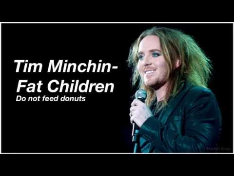 Tim Minchin - Fat Children (Do not feed donuts) Lyric video